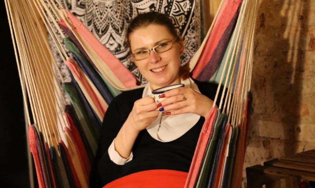 Filiżanka herbaty, Krystyna Bezubik